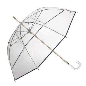 venta online del Paraguas mujer trasparente largo *10764 en cuchilleria casa lama