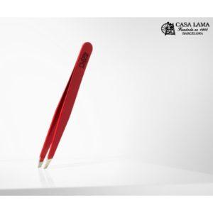 descubre la Pinza profesional sesgada roja en cuchilleria Casa Lama