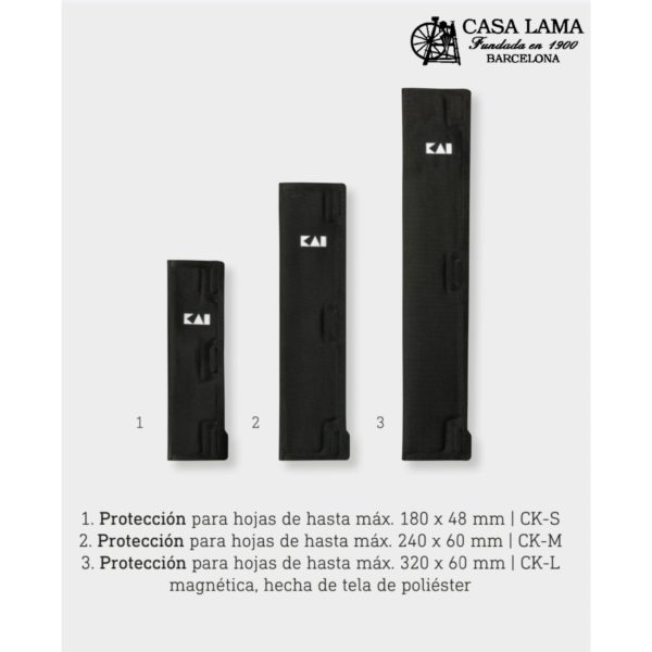 funda magnetica Cuchillos Kai en cuchilleria Barcelona