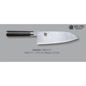 compra online cuchillo santoku reforzado kai shun damasco, en cuchilleria en barcelona
