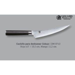 cuchillo kai shun fileteador deshuesador gokujo de venta al mejor precio en cuchilleria casa lama