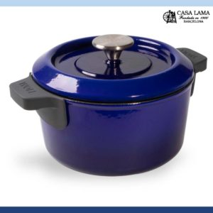 Olla Woll Iron 20 cm Azul Cobalto.