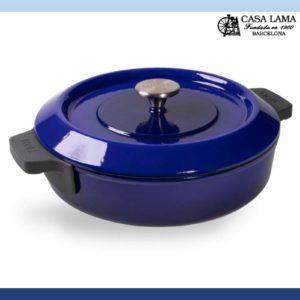 Cacerola Woll Iron 28 cm Azul Cobalto
