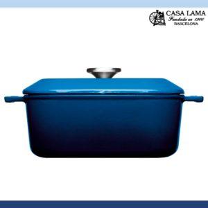 Rustidera Woll Iron 34 x 26 cm Azul Cobalto
