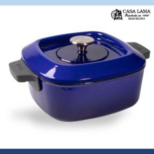 Cacerola Woll Iron 24 x 24 cm Azul Cobalto