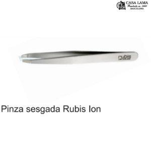 Pinza Rubis profesional sesgada Ion
