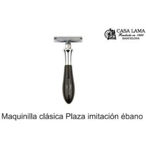 Maquina de afeitar clásica Plaza