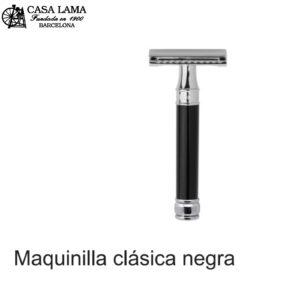 Maquina de afeitar clásica negra Edwin Jagger