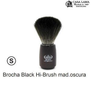 Brocha Omega Hi-Brush madera oscura.
