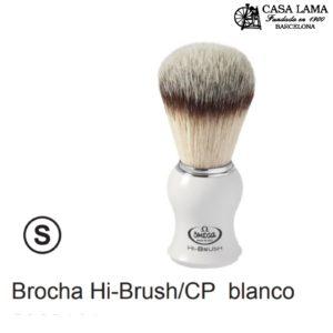 Brocha Omega Hi-Brush /CP, mango blanco