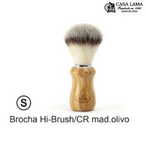 Brocha Omega Hi-Brush/CR madera olivo.