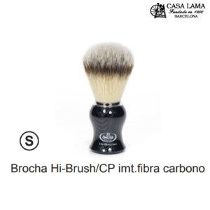 Brocha Omega Hi-Brush /CP imitación fibra carbono.