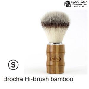 Brocha Omega Hi-Brush bamboo.