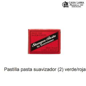 Pack 2 pasta para Asentador/Suavizador Herold Solingen verde/roja