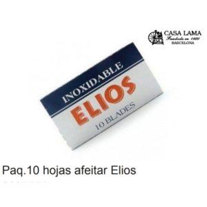 Paquete 10 hojas para afeitar Elios