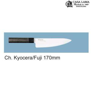 Cuchillo Kyocera Fuji Serie chef 17cm