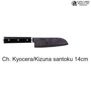 Cuchillo Kyocera Kizuna santoku 14cm