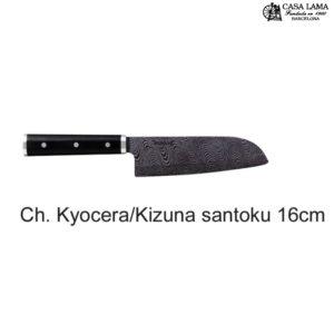 Cuchillo Kyocera Kizuna santoku 16cm