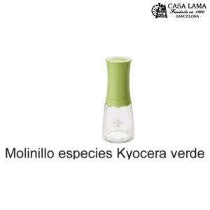 Molinillo especies Kyoceranegro/rojo/blanco/verde