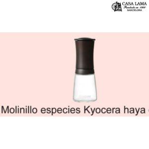 Molinillo especies Kyocera haya color nogal