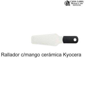 Rallador cerámico con mango Kyocera