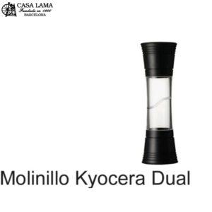 Molinillo dual Kyocera sal/pimienta