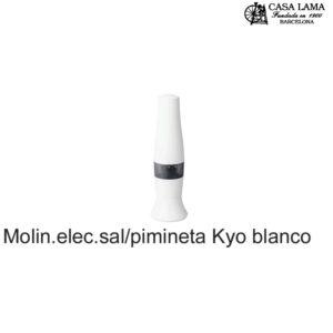 Molinillo eléctrico Kyocera sal/pimienta color blanco /negro