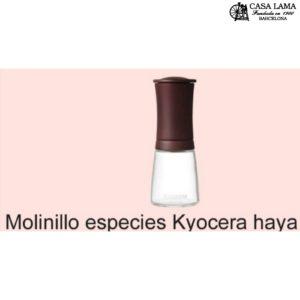 Molinillo especies Kyocera haya color palisandro
