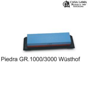 Piedra de afilar Wüsthof 1000/3000 con suporte