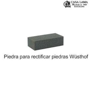 Piedra para rectificar piedras de afilar Wüsthof