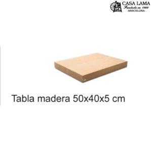 Tabla de madera de Haya 500x400x50mm Wüsthof