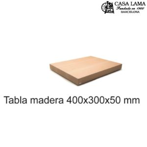 Tabla de madera de Haya 400x300mm Wüsthof