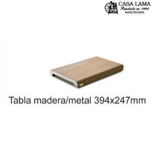 Tabla de madera/metal 394x247mm Wüsthof