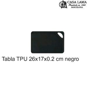 Tabla TPU 26x17x0.2 cm Wüsthof negro/rojo