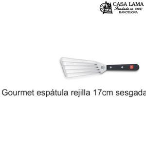Espátula rejilla 17cm sesgada Gourmet - Wüsthof
