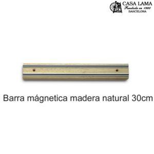 Barra magnética madera Natural 30cm Wüsthof