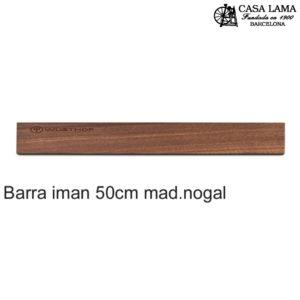 Barra magnética madera de Nogal 50cm Wüsthof