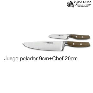 Juego de cuchillos Wüsthof Epicure: Pelador 9 y Chef 20 cm
