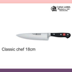 Cuchillo Wüsthof Classic chef 18cm