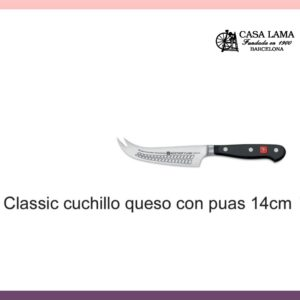 Cuchillo Wüsthof Classic para queso con puas 14 cm