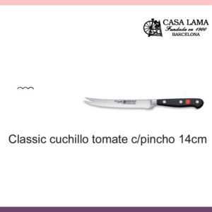 Cuchillo Wüsthof Classic Tomate con pincho 14cm