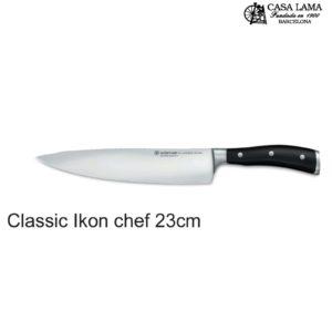 Cuchillo Wüsthof Classic Ikon Chef 23 cm