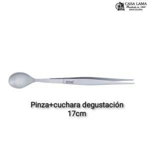 Pinza+Cuchara de degustación Triangle Solingen