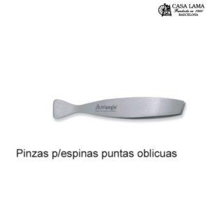 Pinza p/espinas puntas oblicuas Triangle Solingen