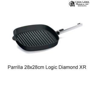 Sartén Parrilla Woll Diamond XR Logic 28x28 cm