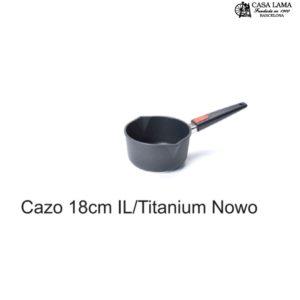 Cazo 18cm Woll Inducción/Line Titanium Nowo
