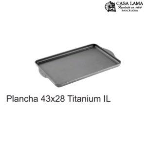 Plancha 43x38cm Woll Inducción/Line Titanium Nowo