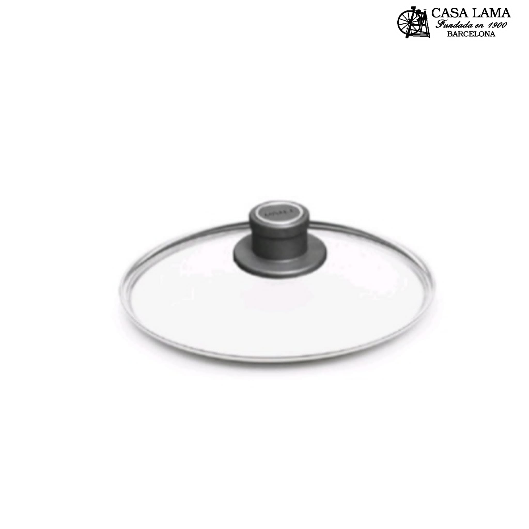 Tapa de cristal Woll para sartén, olla y cacerola de 18 a 32cm