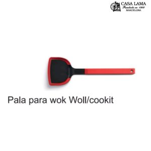 Espátula larga para Wok Woll/Cookit