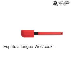 Espátula lengua de silicona Woll/Cookit